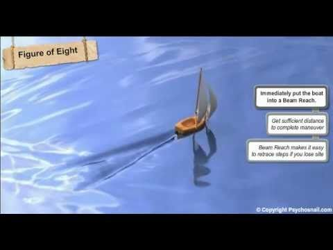 Lean to Sail - Lesson 1.5.1 - Man Overboard Sailing Procedure- PsychoSna...