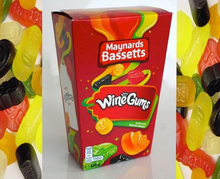 BRAND NEW latest Packaging 460G box MAYNARDS WINE GUMS British Sweets