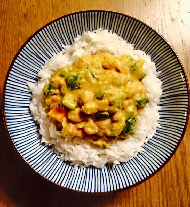 Curry piccante di ceci e verdurine <3