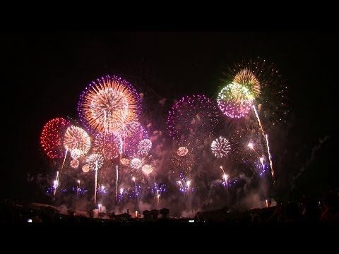 ▶ [HD 1080p] 世界一美しい日本の花火大会 fireworks Japan beautiful in the world/ - YouTube