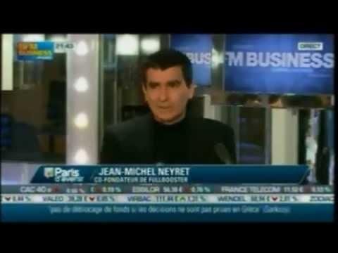 """Pour Jean-Michel Neyret invité par Nathalie Croisé dans Paris d'avenir sur BFM TV """"Entreprendre en temps de crise, c'est possible ! """""""