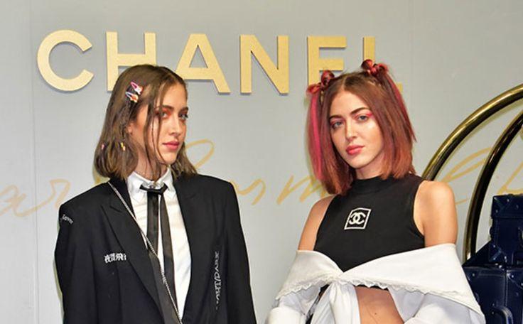 双子のシミヘイズファッション界を虜にするDJデュオは人気セレブと仲良しの美人姉妹