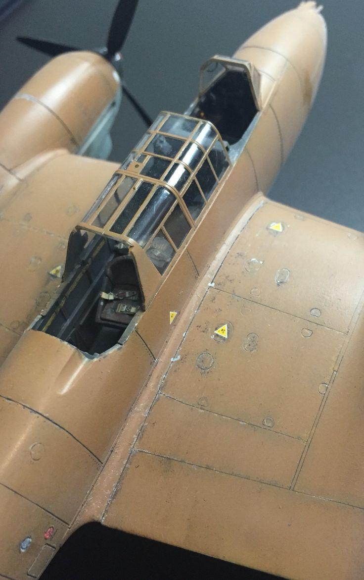 Bf-110E, Eduard, 1/48