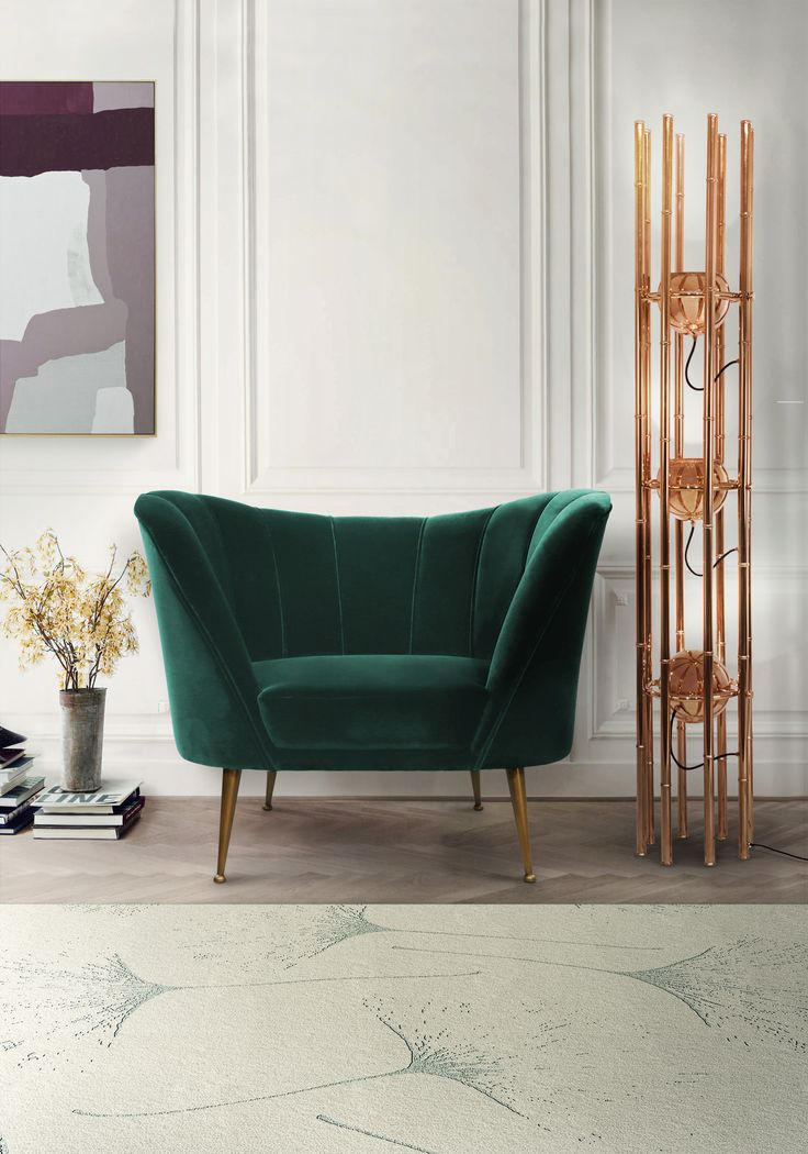 8 Must-Have Living Room Chairs That Will Be Trendy This Summer / modern chairs, chair design, interior design #interiordesign #designinspiration #chairdesign For more inspiration, read: http://modernchairs.eu/must-have-living-room-chairs-trendy-summer/