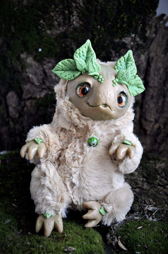 Spirit of spring forest STUFFED CUTE CREATION Spirit by FoxyMocksy