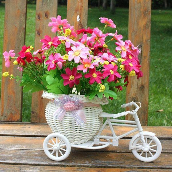 Barato Plástico branco moto triciclo projeto cesta de flores de armazenamento de decoração do partido decoração de casamento, Compro Qualidade Decoração de festa diretamente de fornecedores da China:                                                           Descrição     Condição: 100 % Brand New