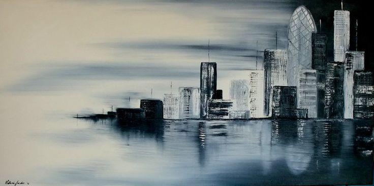 Melanie Jacobs City Wharf View - Arthouse GalleryAmazing Art, Abstract Art,  U-Boat, Jacobs Cities, Wharf View, Melanie Jacobs, Arthouse Gallery, Cities Wharf,  Pigboat
