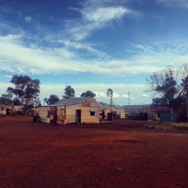 Ghost town of Gwalia, Western Australia