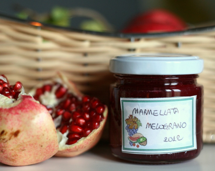 #Pomegranate #jam avilable at my #restaurant near #Trasimeno lake www.marilenalacasella.com