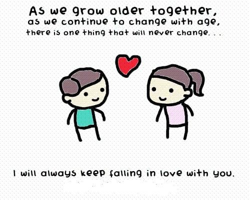 grow old with u