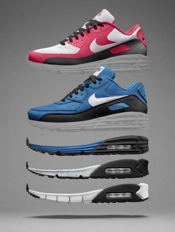 Nike Air Max 90 Lunar + Free on NIKEiD