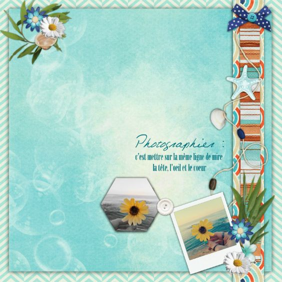 Created using By the beach bundle by Marie H. Designs
