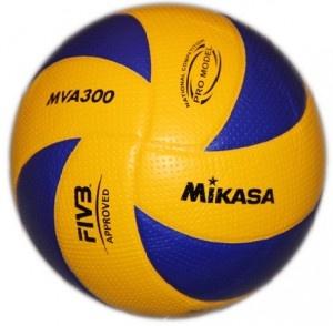 Piłka siatkowa Mikasa MVA 300 - Wysokiej jakości oficjalna piłka siatkowa wzorowana na modelu MVA200. $43