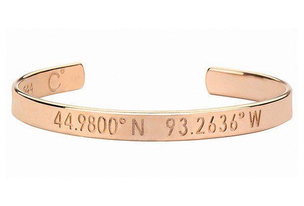 Pick a place you love. Coordinates Collection bracelet