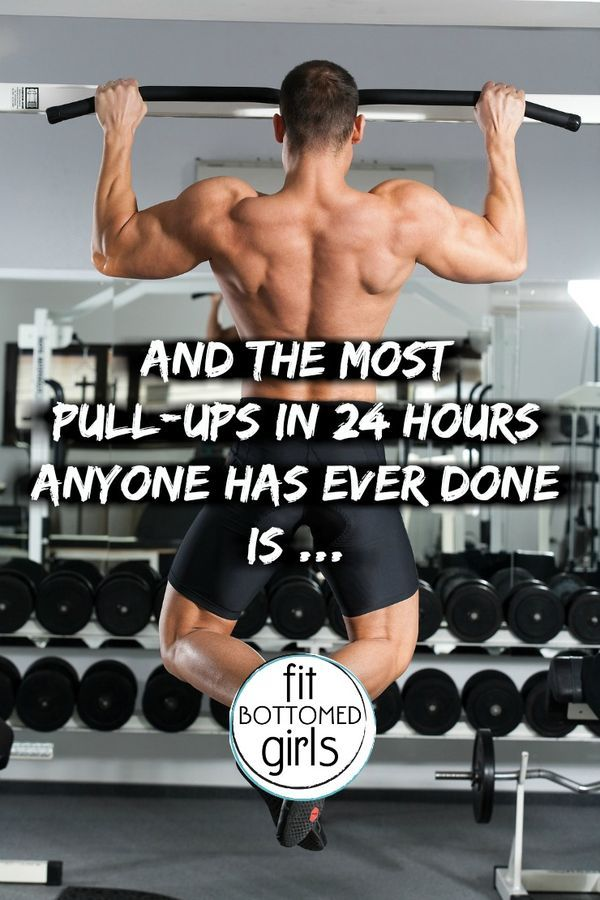 This Guy Did an Insane Number of Pull-Ups in 24 Hours ...