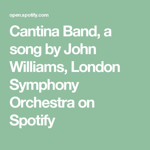 Cantina Band, a song by John Williams, London Symphony Orchestra on Spotify