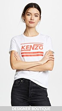 New KENZO Logo Fitted T-Shirt online. Perfect on the J.O.A. Clothing from top store. Sku nioo90666vjyl89349
