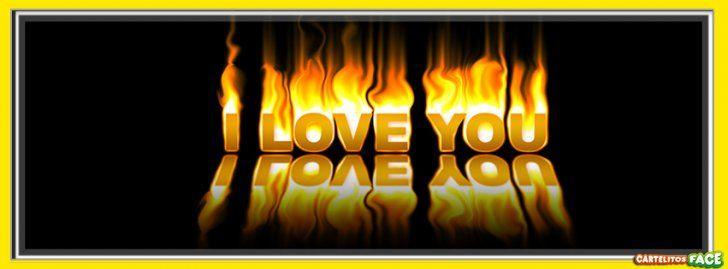 I Love You - Portadas para Facebook