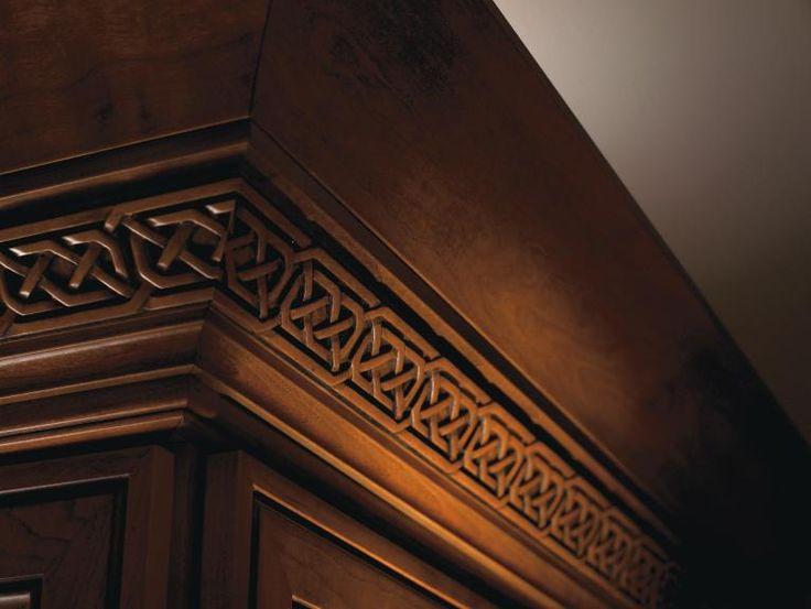 Use Celtic Insert #Moulding to create a unique and welcoming look throughout your home. #DiamondRoomMakeover