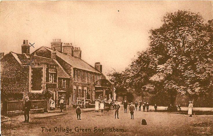 SNETTISHAM ( Norfolk) :The Village Green -MEEK | eBay