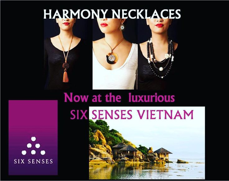 While you are traveling, HARMONY can be purchased at SIX SENSE NINH VAN BAY VIET NAM @sixsensesninhvanbay, Vinh Hi Village, Vinh Hai Commune, Ninh Hai Dist, Ninh Thuan Province, Viet Nam. Unique design. Don't hesitate to contact us at harmonynecklaces@gmail.com Worldwide commercial. #harmony #vsco #necklaces #handmadejewelry #saigon #vietnam #travel #inspiration #wanderlust #fashiondesigner #fashion #traveling #ladiesfashion #like4like #followforfollow
