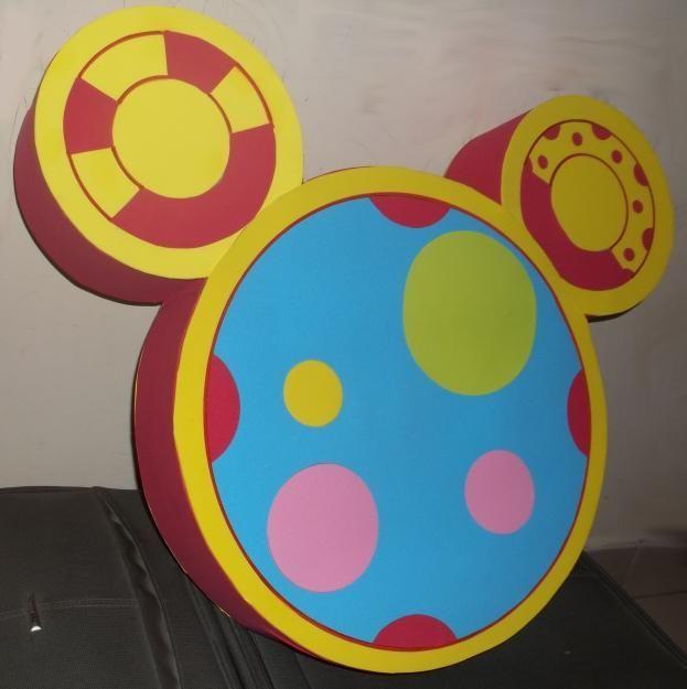 Piñata la casa de Mickey Mouse - Imagui