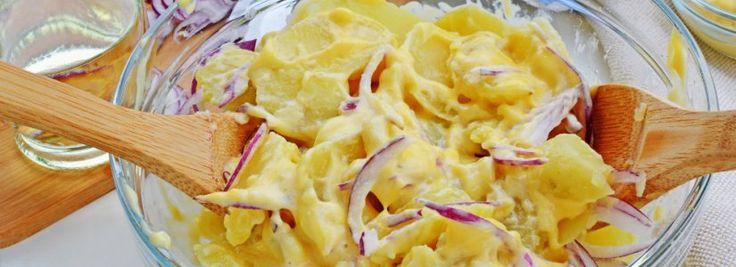 Jednoduchý bramborový salát | Svět zdraví