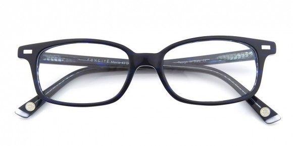 Foncité Mavis Blue - Mens Prescription Glasses #eyewear #eyeglasses