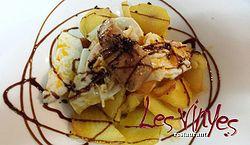 Receta: Huevos con trufa y foie