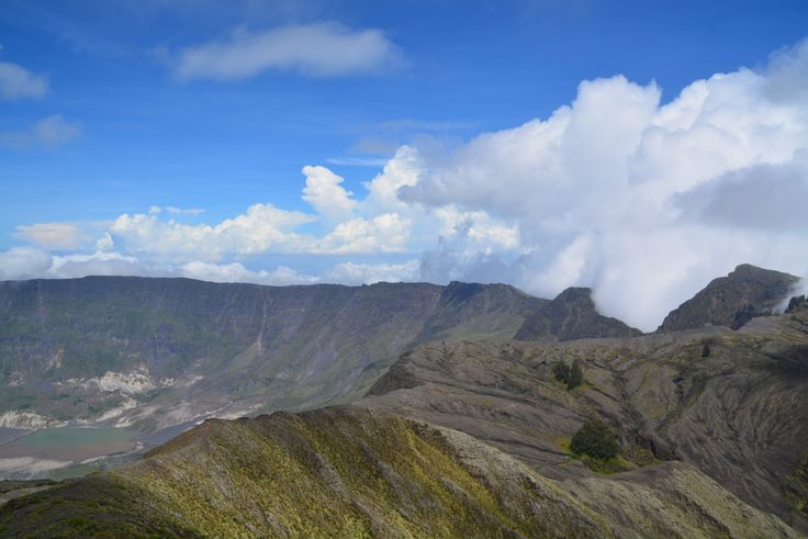 Extra wide caldera Tambora mt. April 12-th, 2015 #TwoCenturiesTamboraExplotion #Sumbawa #Indonesia