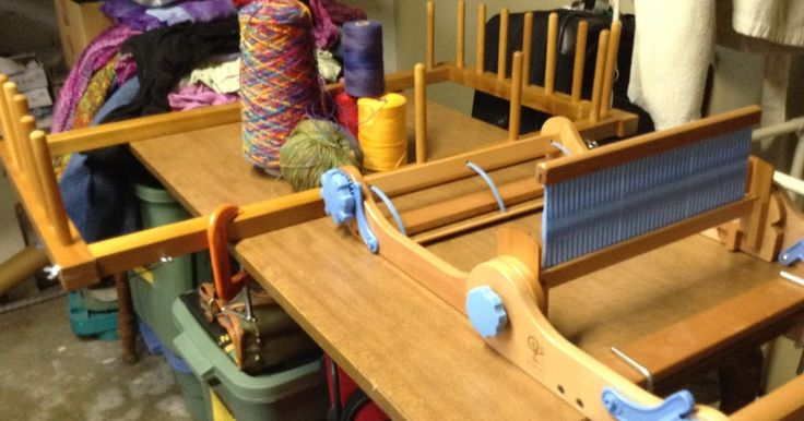 """Y esterday I tried something I've been thnking about since I put 18 feet of warp on my 10"""" Cricket rigid heddle a month ago. I love direc..."""