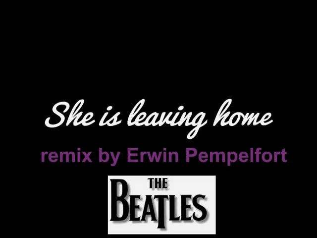SHE IS LEAVING HOME - Paul McCartney
