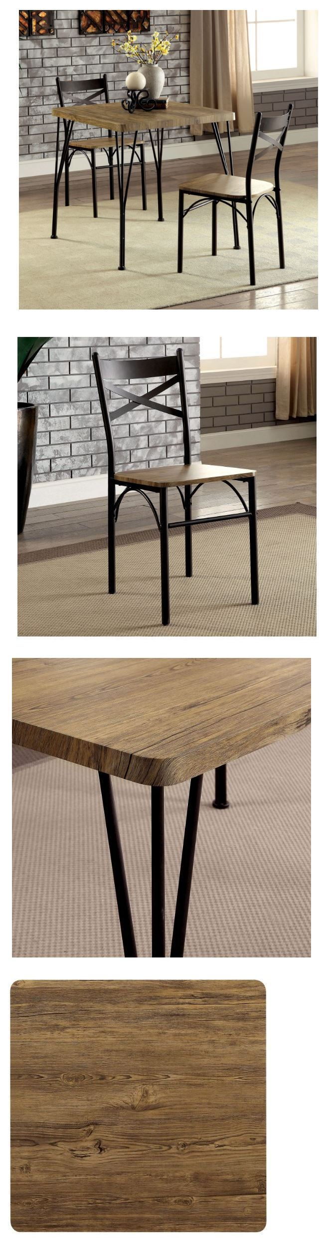 Dining Sets 107578: Dining Table Set For 2 Small Kitchen Table And Chairs Breakfast Nook Square -> BUY IT NOW ONLY: $144.85 on eBay!
