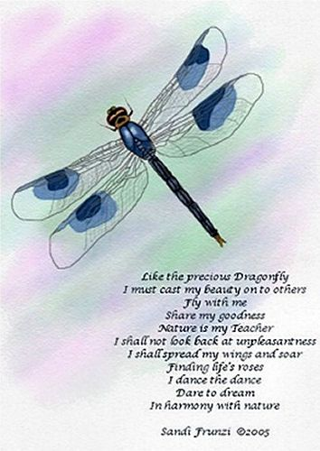 Legend of the Dragonfly Poem | Little Miss Softy }