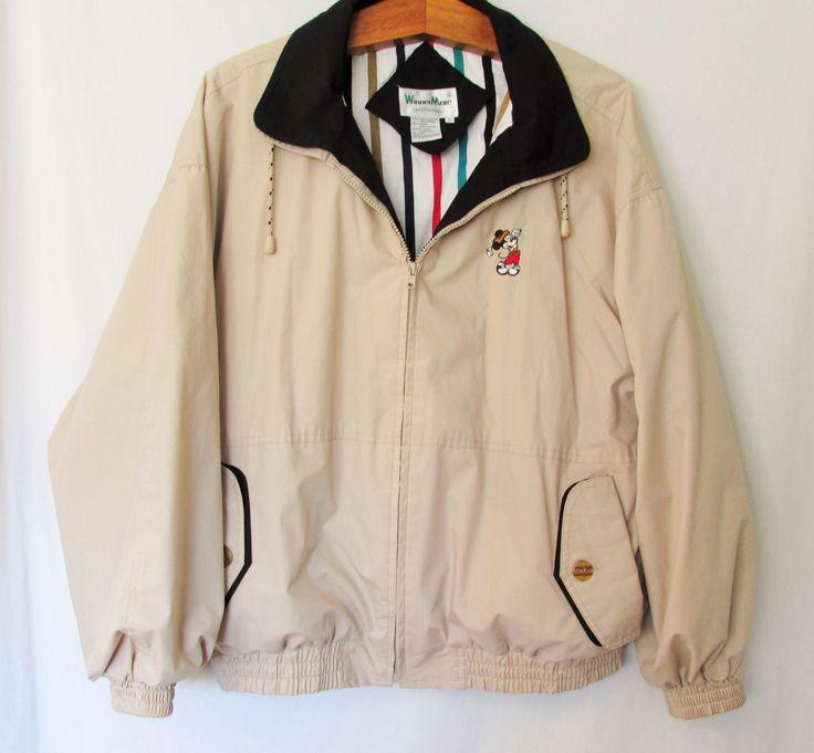 Vintage Mickey Mouse Golf Jacket by FreshtoDeathVintage on Etsy