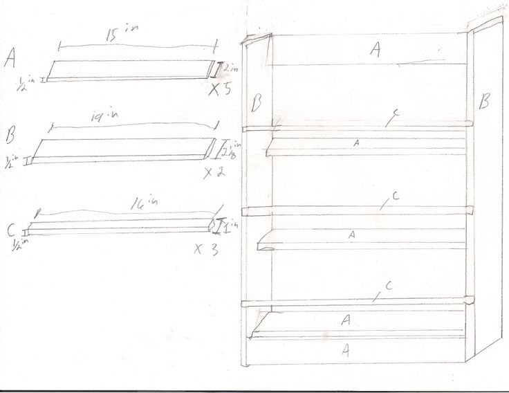 Plans For A Large Spice Rack I Made Wood Project Ideas