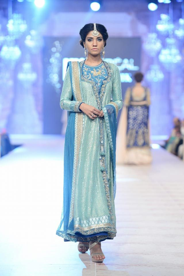 Complete Collection - Photo 6: Nida Azwer PFDC Bridal 2014 Collection,