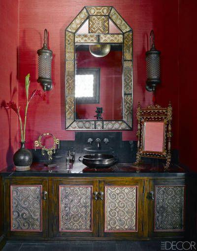A Martyn Lawrence Bullard-designed Malibu bathroom.