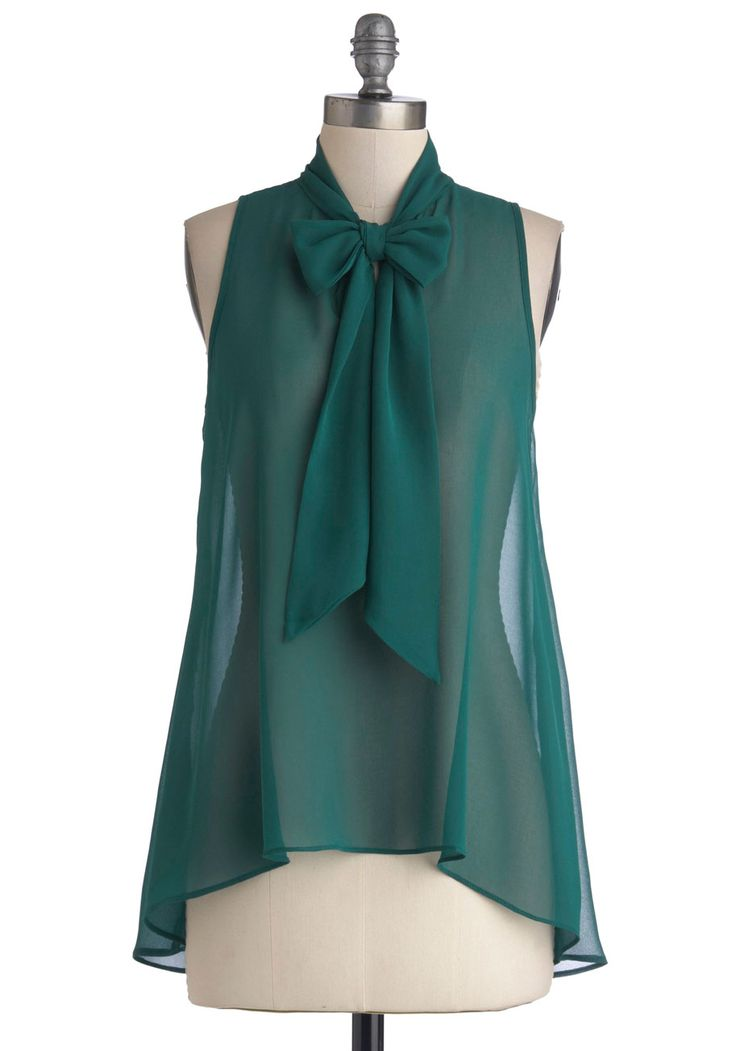 Cute Do You Do Top in Forest, #ModCloth