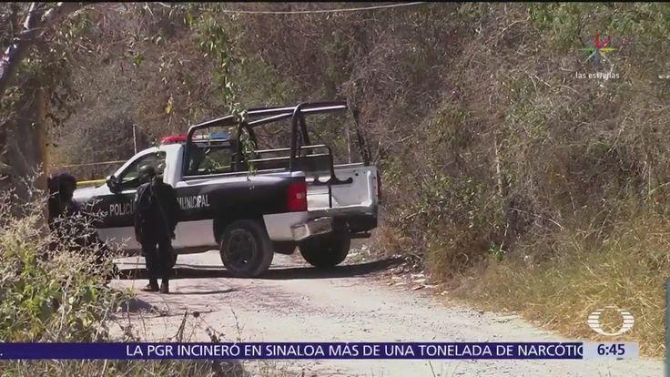 Encuentran una fosa clandestina en un terreno baldío de Chilpancingo, Guerrero; han sido hallados los restos de 4 personas