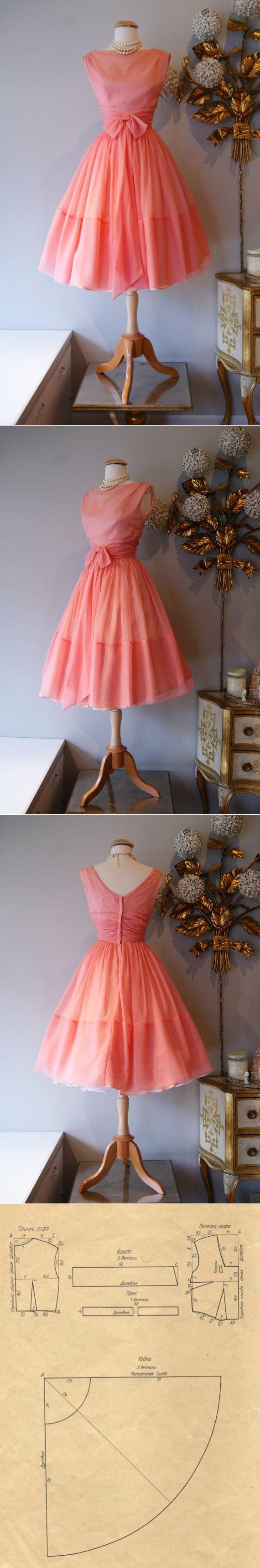 Очаровательное винтажное платье / История моды ...<3 Deniz <3