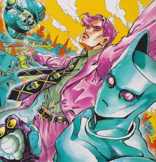 Jojo's Bizarre Adventure part 4 Diamond is Unbreakable - Kira Yoshikage and Killer Queen by Hirohiko Araki