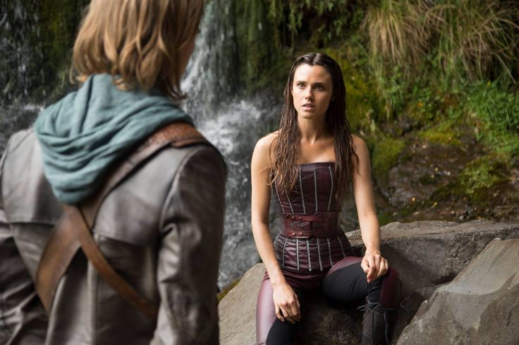 "#TheShannaraChronicles 1x01/1x02 ""Chosen"" - Wil and Amberle"