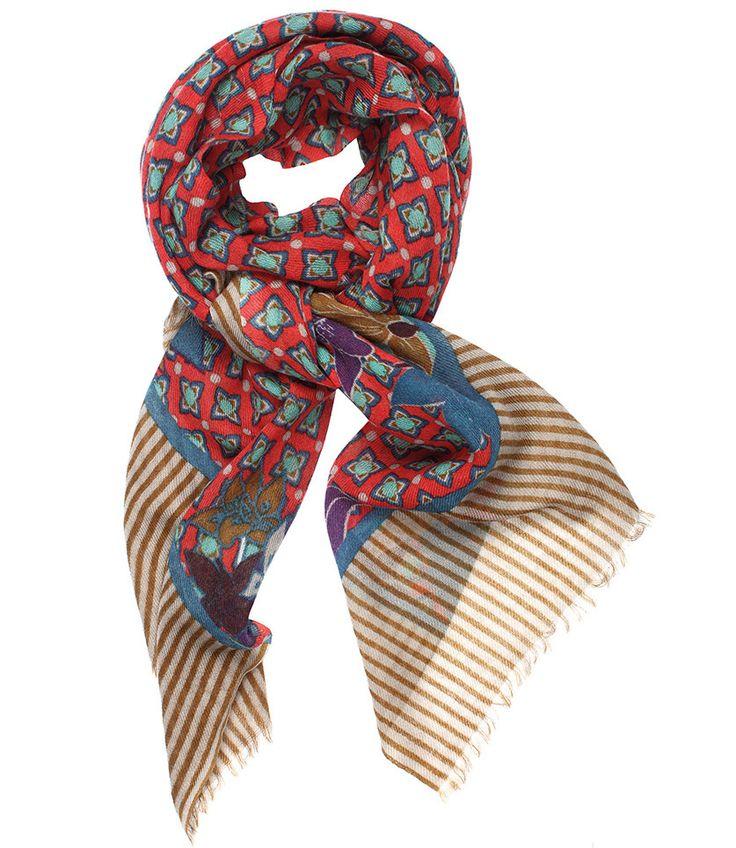 2-15BETTY ROUGE - VDMD Foulards et accessoires de mode