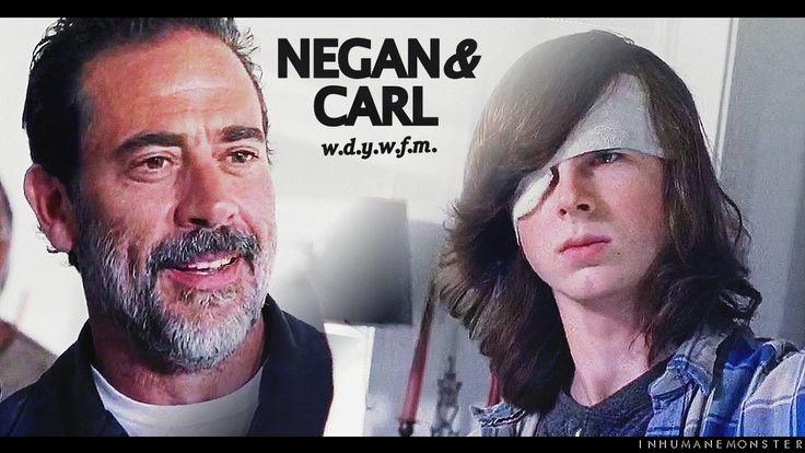 negan/carl | 'did you just threaten me?'