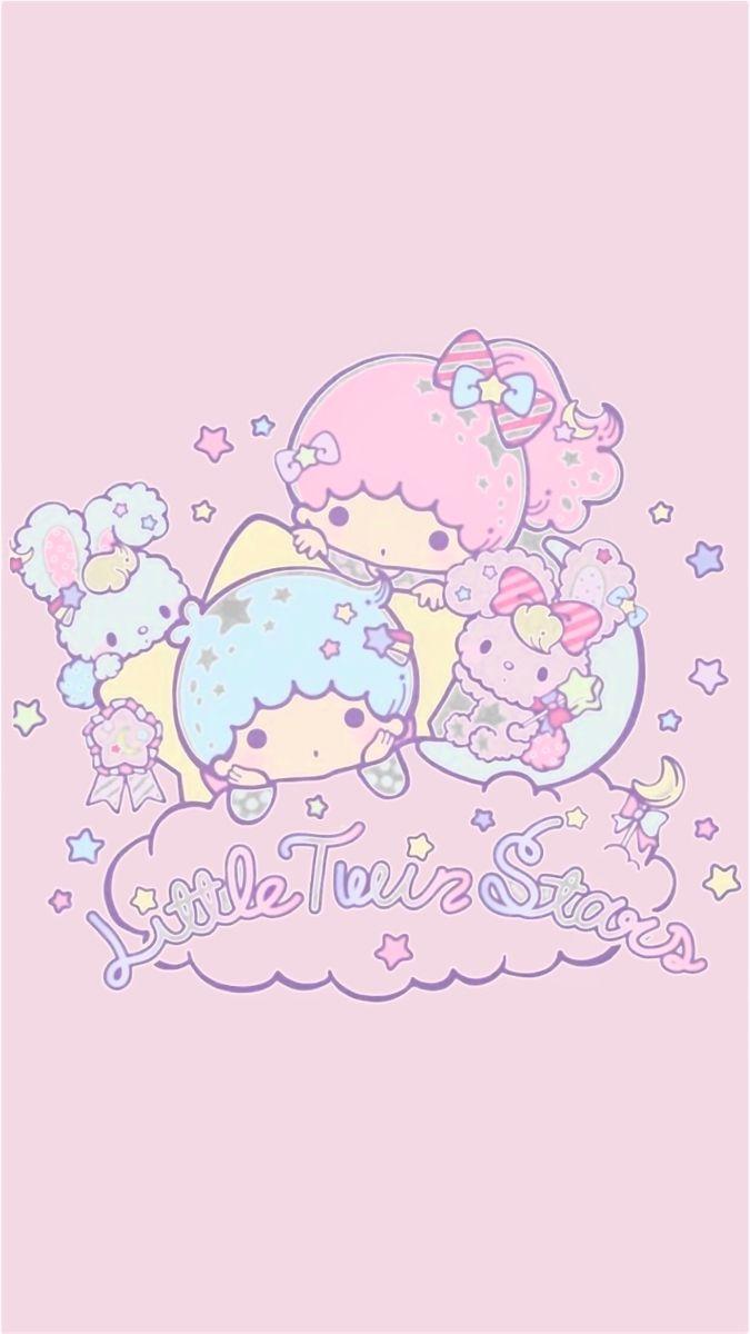 𝒎𝒚𝒌𝒊𝒌𝒊 𝒎𝒆𝒍𝒂𝒍𝒂 Little Twin Stars Hello Kitty Wallpaper Sanrio Wallpaper