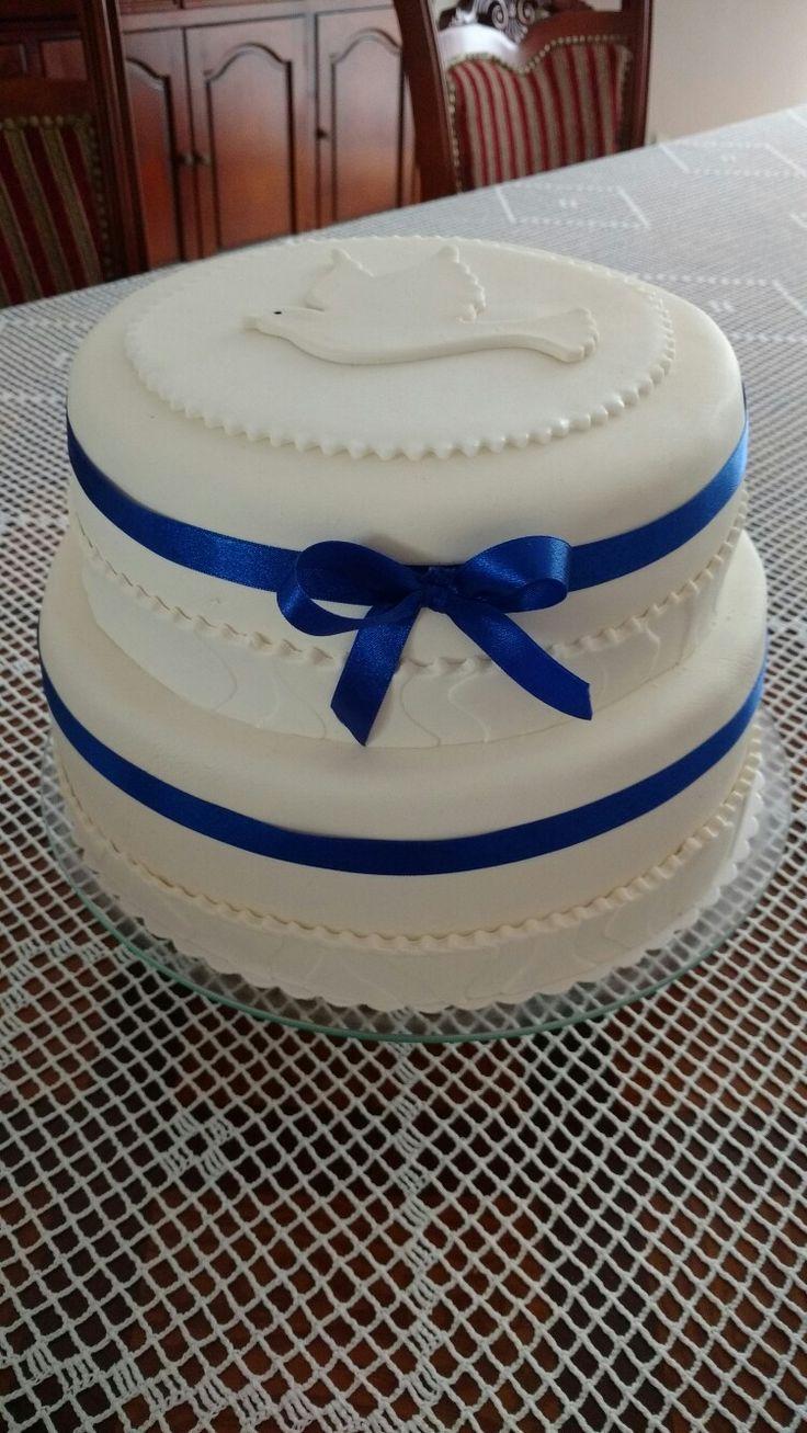 Tort komunijny dla chłopca