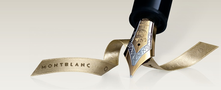 Mont Blanc...great watches, writing instruments and leather goods!