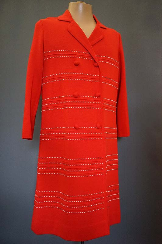 1960's woollen coat for sale in the Mabs Collection