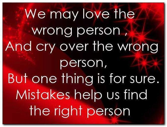 Finding That Right Person...